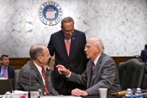 Patrick Leahy, Chuck Grassley, Chuck Schumer