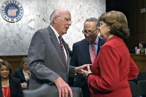 Patrick Leahy, Sen. Dianne Feinstein, Chuck Schumer