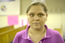 """Blanca Gomez: """"I am on hunger strike because I need a kidney transplant. We are denied health care for being undocumented. They put a piece of paper over our lives. Documents, money, social security cards.. are more important than our lives"""""""