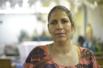 """Maria Garnica: """"I asked a surgeon if he would accept an organ I donate. He said Yes. I asked him why he would accept my organ since I am """"illegal""""? I am here with my six children, we are fighting on behalf of my husband, who needs a transplant. But this is a national crisis."""""""